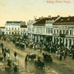 """MOMENT DE LA ADUNAREA DESPĂRȚĂMÂNTULUI """"ASTREI"""" DE LA VÂRȘEȚ – 1907"""