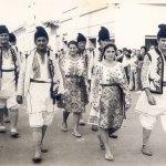 Voivodincenii la Balul strugurilor, 1972