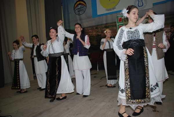 Formația de dans din Voivodinț