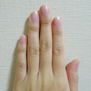 ダスティピンク くすみピンク マニキュア セルフカラー