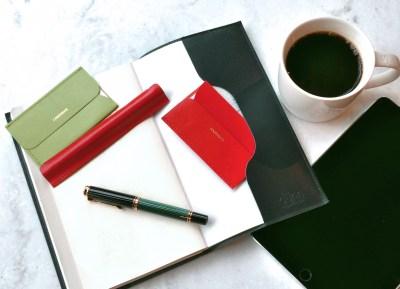 dünn(デュン) ペンケース 手帳カバー 名刺入れ dunn