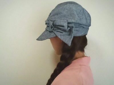 キャスケット 帽子屋QUEENHEAD リボン