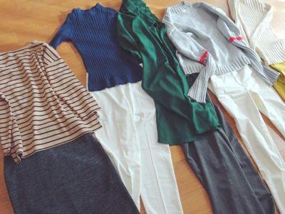 30代ママファッション おしゃれ 色 服