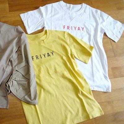 re:EDIT Tシャツ 春 ロゴT