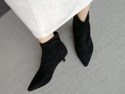 SESTO セスト 黒ブーツ 秋冬 30代ママ