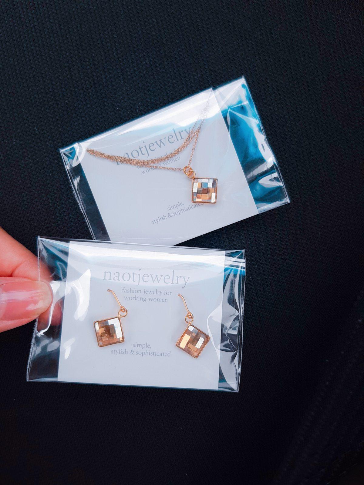 naotjewelry 楽天市場店 ネックレスとピアスのセット AMAZON
