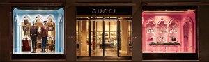 Gucci escaparate