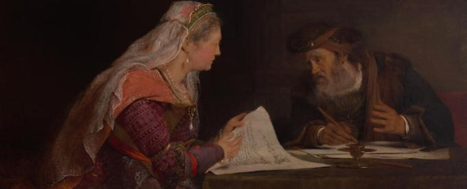 Esther and Mordecai | RISD Museum