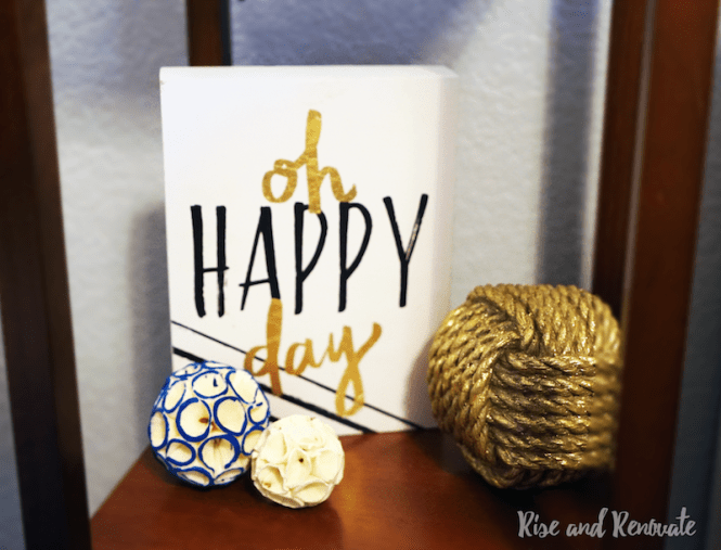 Bedroom Makeover Decor - Oh Happy Day