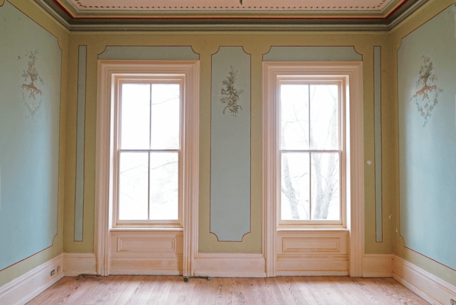 1860s Mansion - Windows in Room