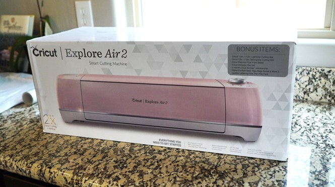 Cricut Explore Air 2 Box