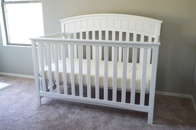 Planning our First Nursery - Crib
