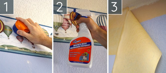 Guest Room Makeover How To Remove Wallpaper