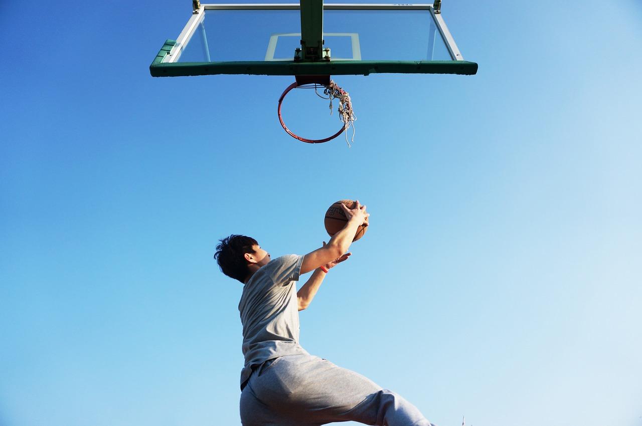 バスケ、ジャンプ力