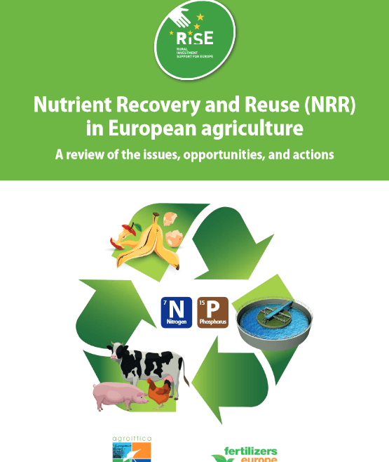 Nutrient Recovery and Reuse (NRR) in European agriculture