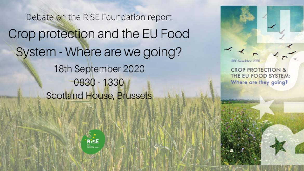 18.9.2020 | Future of EU crop protection – Cancelled