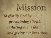 mission glorify god