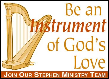 Stephen Ministry Harp