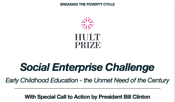 Apply for the 2015 Hult Prize – Win US$1 million to Start a