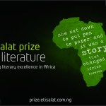 Enter for the Etisalat Prize for Literature 2016 (£15,000, Book Tour and Fellowship for Winner)