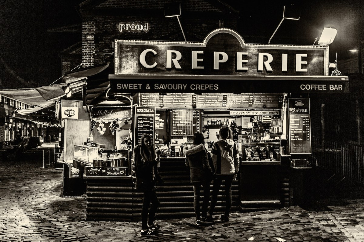 A Creperie in London. Photo Credit: Davide D'Amico/ Flickr (CC by 2.0)