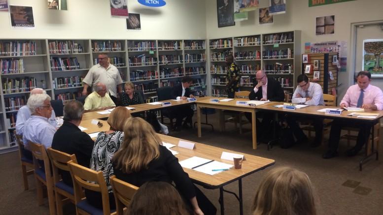 DCS board meeting in June.
