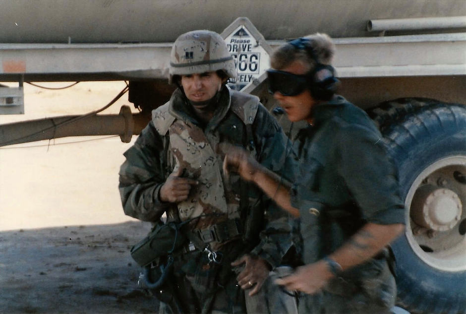 American military personnel during Operation Desert Storm. Photo Credit: Walter/ Flickr (CC By 2.0)