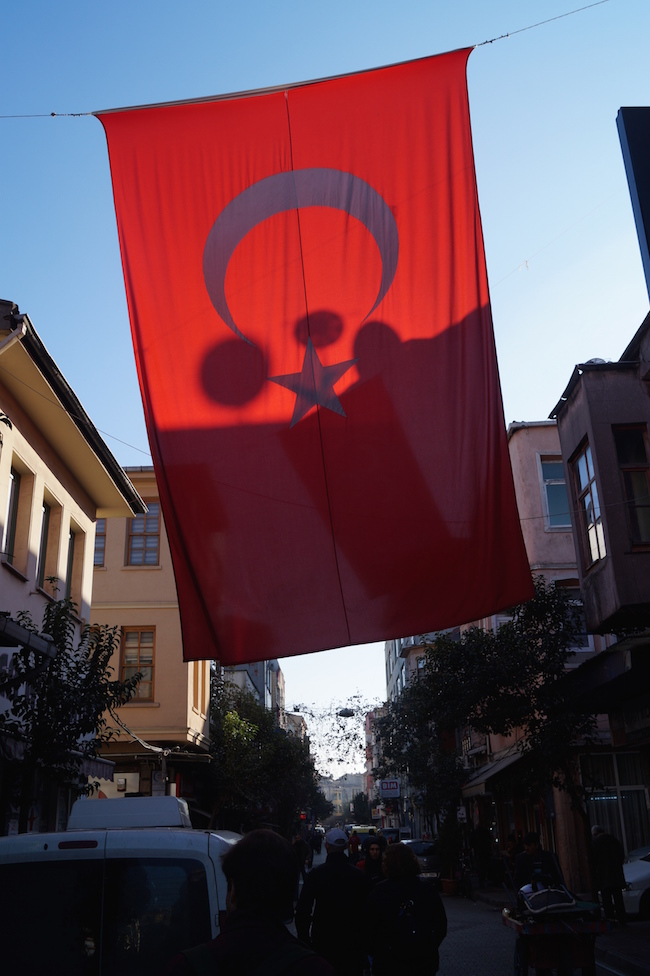 Hanging Flag, Istanbul