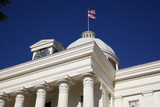 The statehouse in Montgomery, AL. Photo Credit: David Brossard/ Flickr (CC By 2.0)
