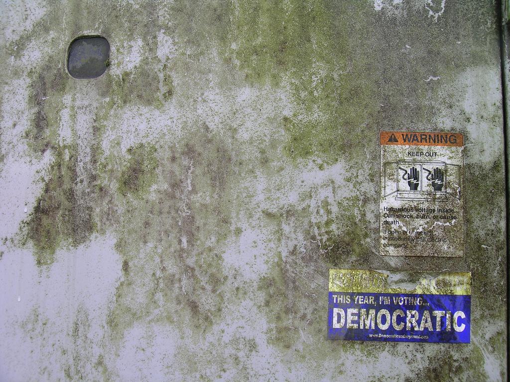 A sticker found on a transformer box in Juneau, Alaska. Photo Credit: Ryan McFarland/ Flickr (Cc By 2.0)