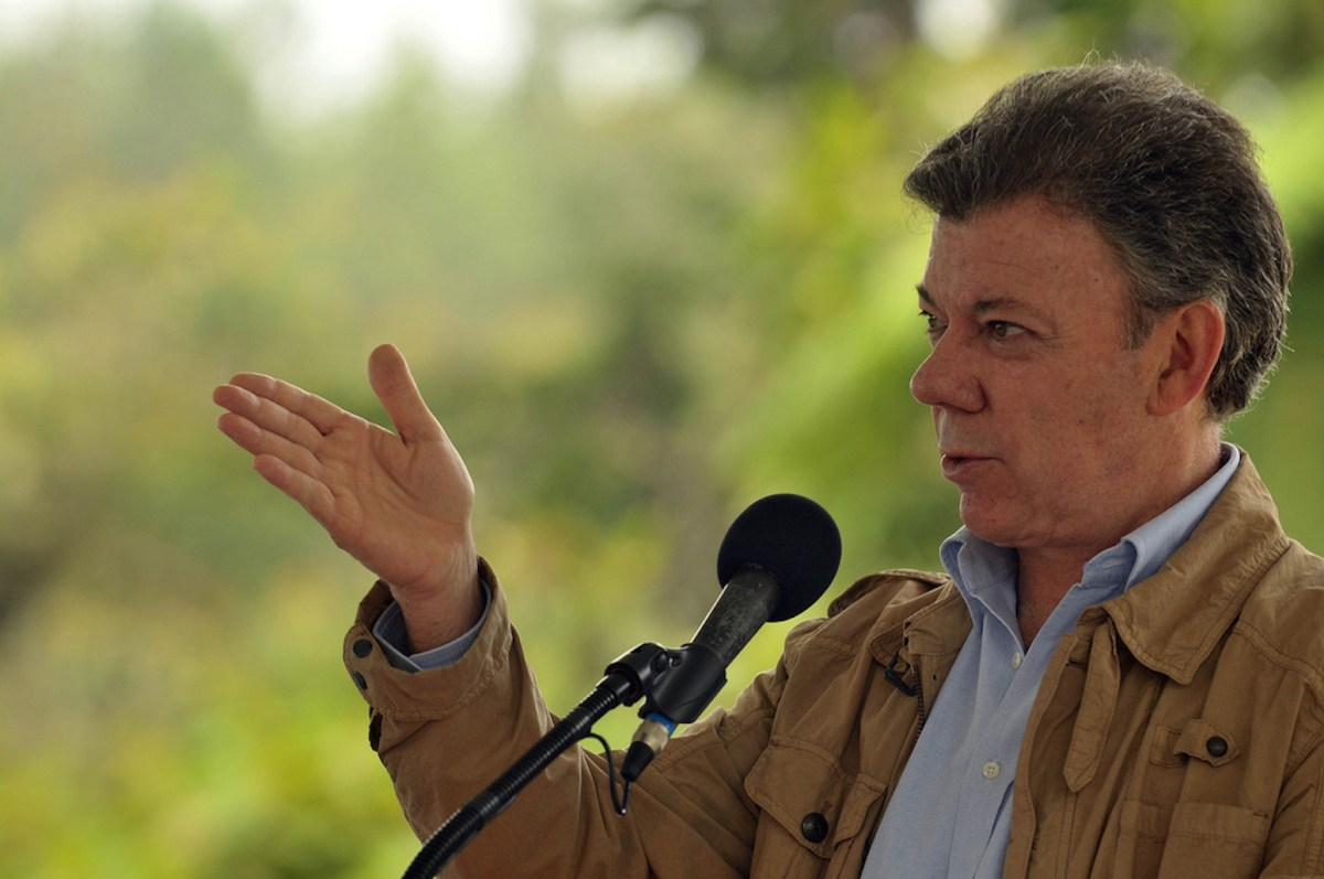 Colombian President  Juan Manuel Santos. Photo Credit: Ministerio TIC Colombia/ Flickr (CC By 2.0)