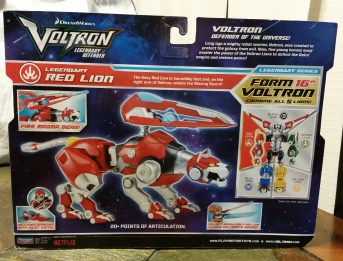 Voltron Red Lion box
