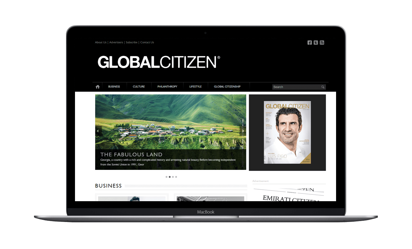 Rise On Communications Latest Project - Global Citizen Magazine