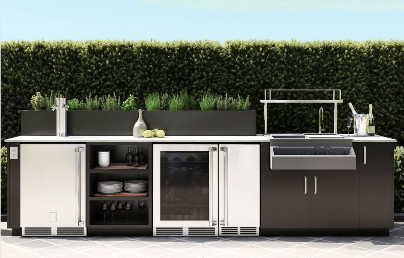 Luxury Outdoor Kitchen Contractor - Rise Outdoor
