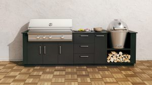 Urban Bonfire Caliber Combo - Built-in BBQ