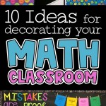 10 Ideas For Decorating Your Math Classroom Rise Over Run