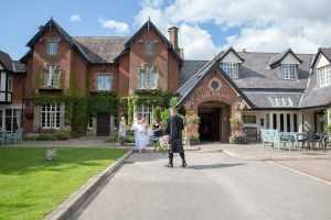 wedding at villa, wrea green, preston