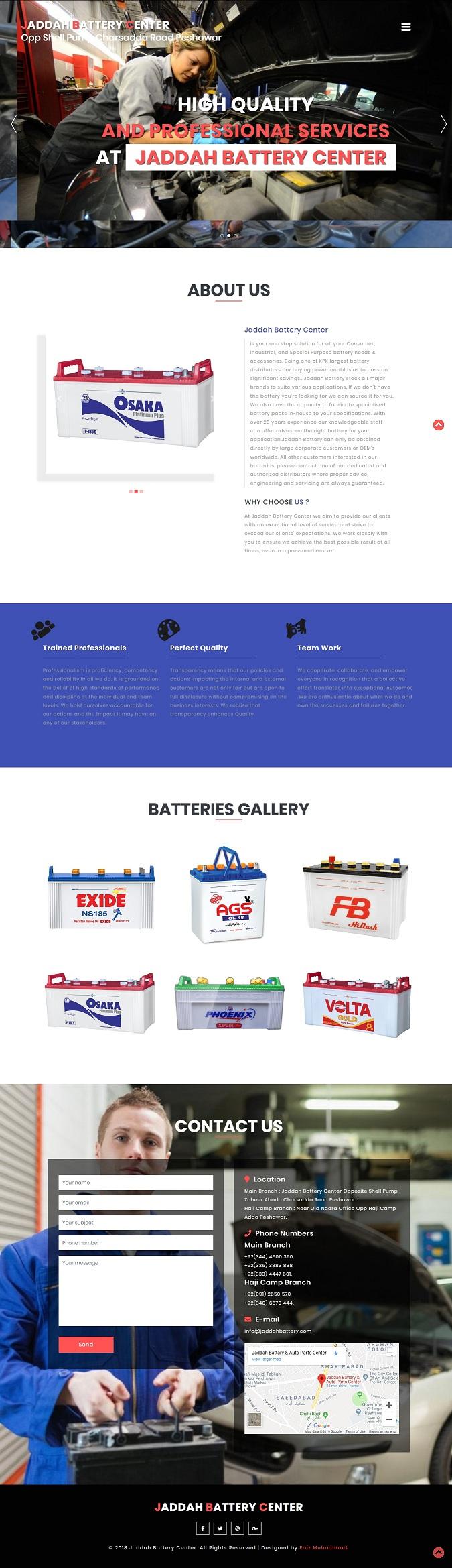 Jaddah Battery & Auto Parts Center