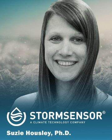 Headshot of Suzi Housley for StormSensor