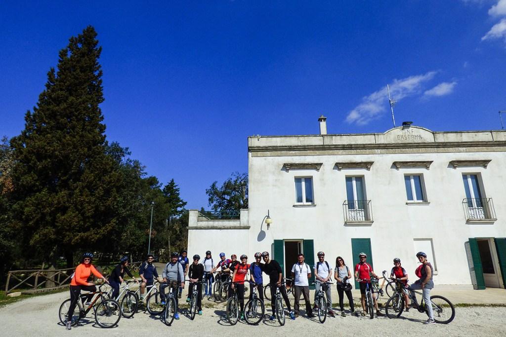 Escursione in bici nel Bosco delle Pianelle