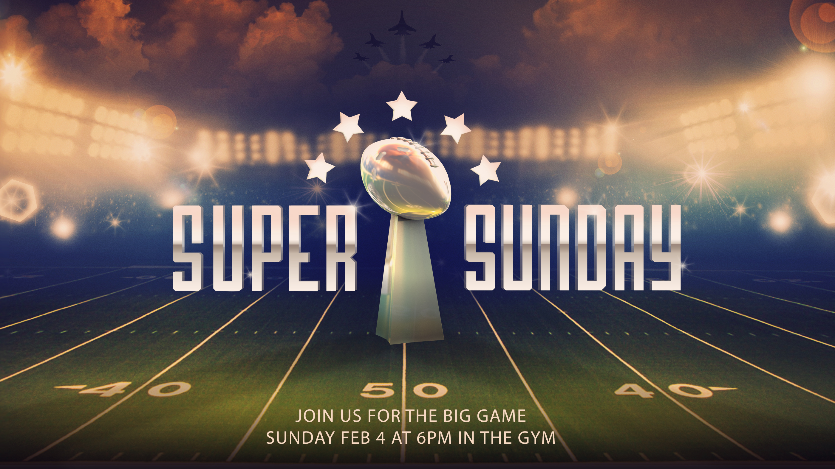 Super Bowl Party Rise Student Ministry