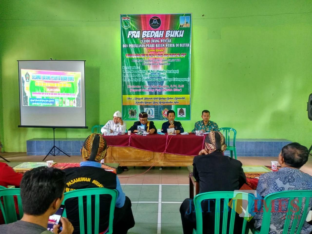 Kembangkan Desa Wisata Budaya Lembaga Adat Desa Sawentar Bedah