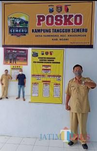Desa Sumengko Aktifkan Posko Kampung Tangguh Semeru