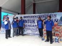 DPC Partai Demokrat Kabupaten Malang Salurkan Bantuan Korban Gempa