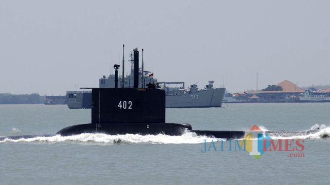 Kapal Selam KRI Nanggala-402 Hilang, Diduga Black Out dan Ada Tumpahan Minyak di Perairan Bali