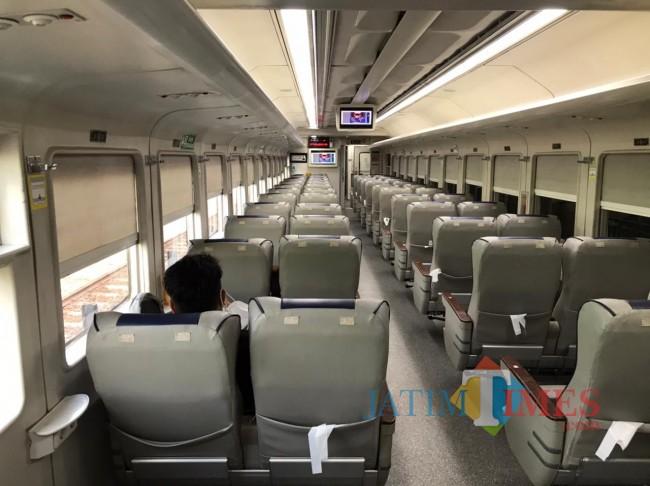 Stasiun Malang Kota Baru Sepi Penumpang