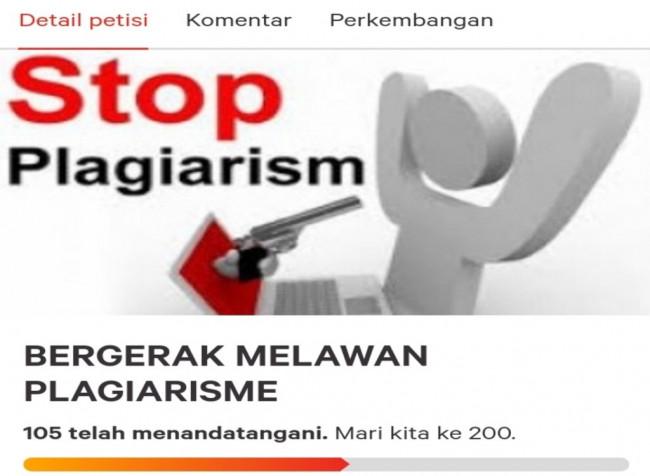 Petisi Online Indikasi Plagiasi Bacarek UIN Malang Muncul