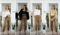 Tips Memilih Atasan untuk Dipadukan dengan Celana Cokelat, Modis dan Kekinian Lho!