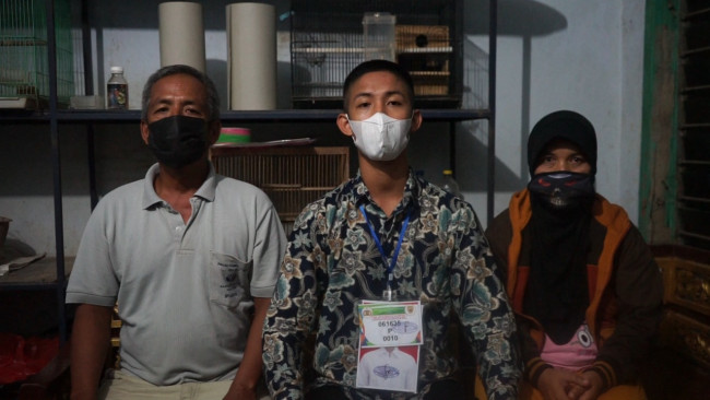 Hidup di Rumah Penuh Sarang Burung, Anak Buruh Tani Ini Lolos Bintara Polri