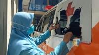 13 Warga Diperiksa Polisi Terkait Perusakan Mobil Ambulan